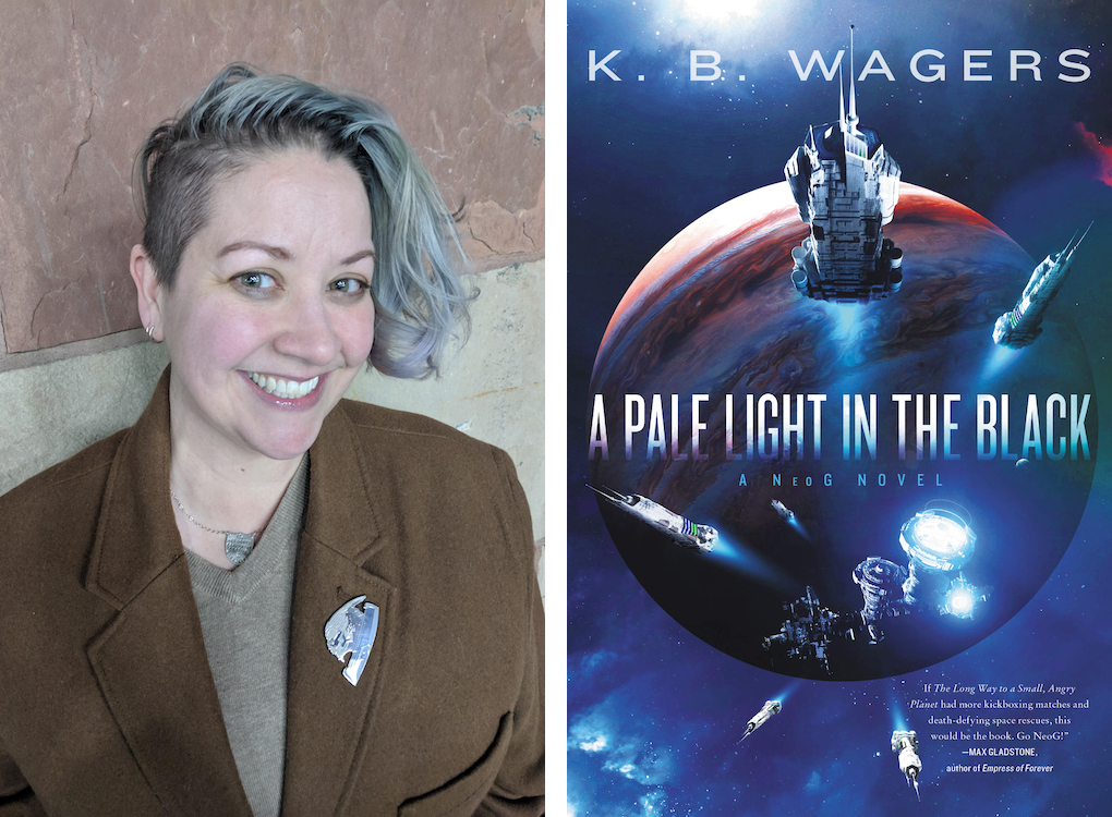 Sleeps With Monsters: K.B. Wagers Answers Six Questions