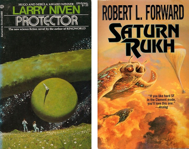 Protector and Saturn Rukh book covers