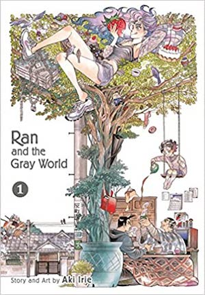 Ran and the Gray World book cover