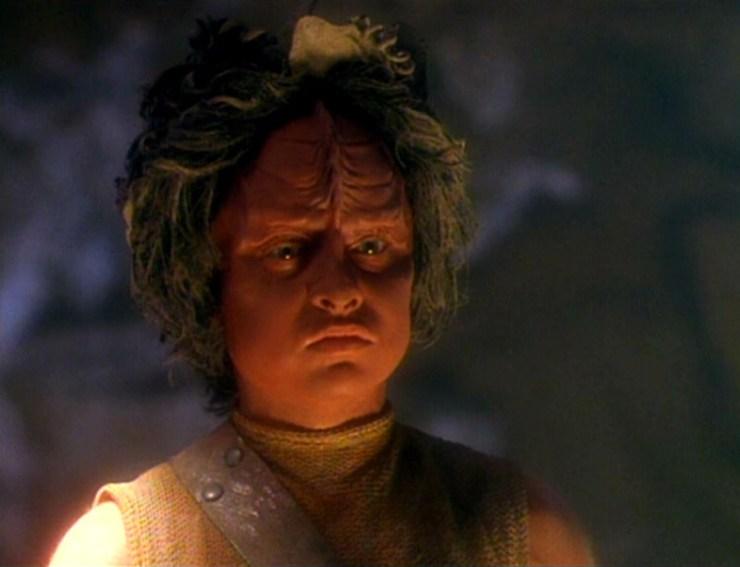 Kar (Aron Eisenberg) in Star Trek: Voyager