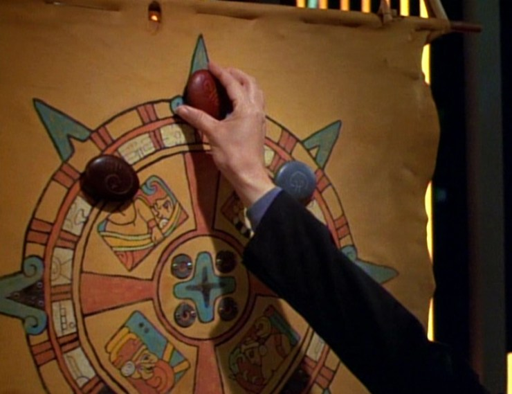 "The ""medicine wheel"" depicted in Star Trek: Voyager"