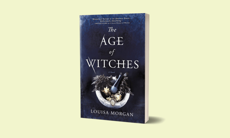 Blog Post Featured Image - A Young Girl's Magical Legacy in Louisa Morgan's The Age of Witches