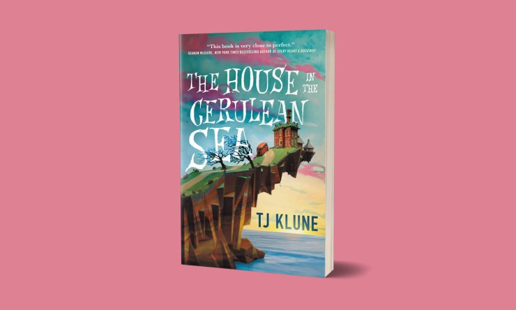 Blog Post Featured Image - Finding Family & Breaking Rules in The House in the Cerulean Sea by TJ Klune