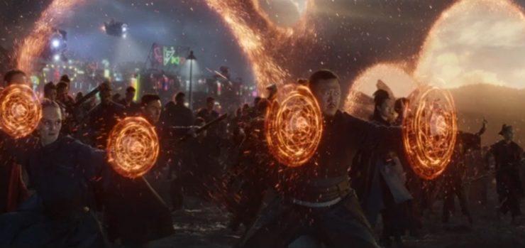 Avengers: Endgame, finale, portals, Wong