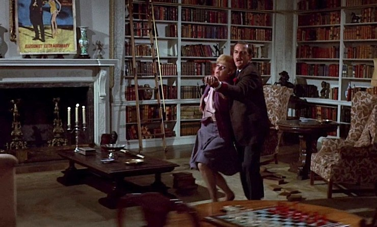 Bedknobs and Broomsticks, Professor Browne trying to dance with Ms Price