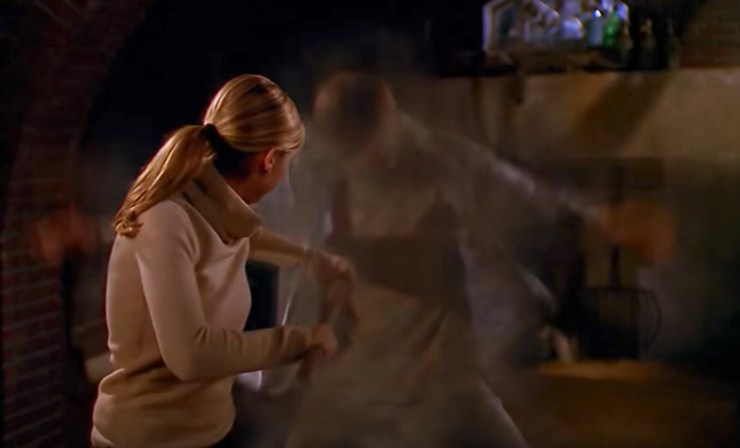 Buffy the Vampire Slayer, Buffy staking vamp