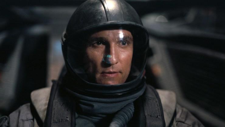 Insterstellar, Cooper in spacesuit