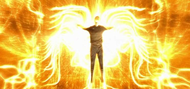 Matrix Revolutions, Neo in gold light