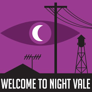 Welcome to Night Vale podcast logo long-running podcasts