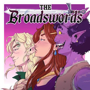 The Broadswords logo long-running podcasts actual play D&D dnd
