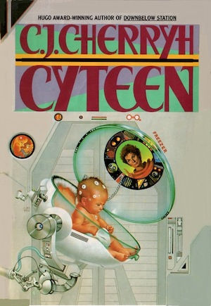 Cyteen book cover