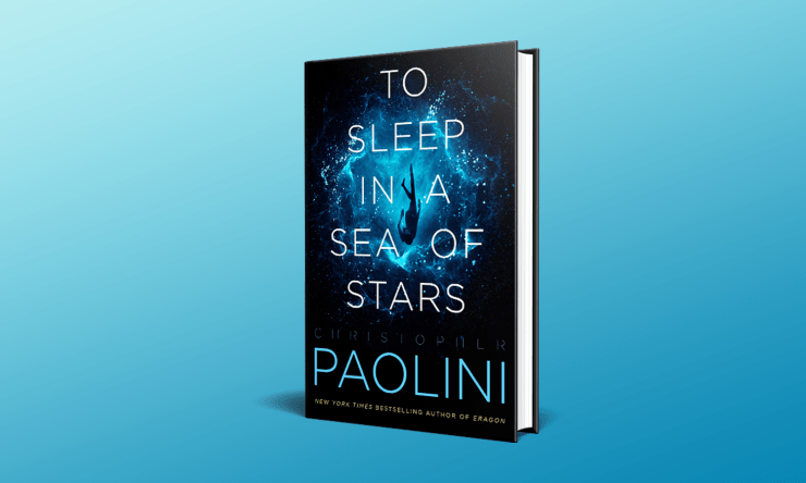 Blog Post Featured Image - Diving Into Christopher Paolini's New Science Fiction Epic, To Sleep in a Sea of Stars