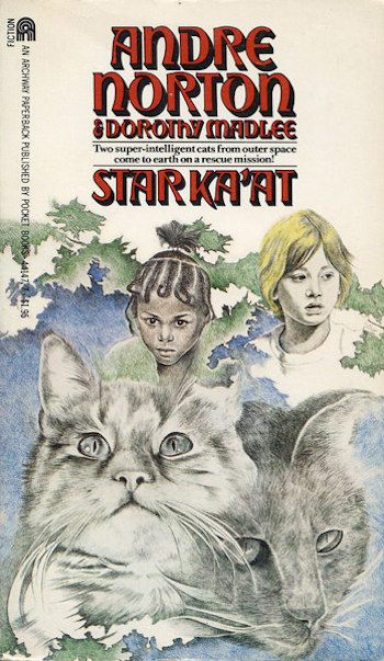 Blog Post Featured Image - Kitties in Space: Andre Norton's Star Ka'at