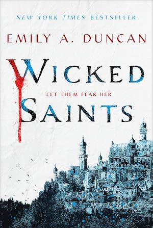 Wicked Saints book cover