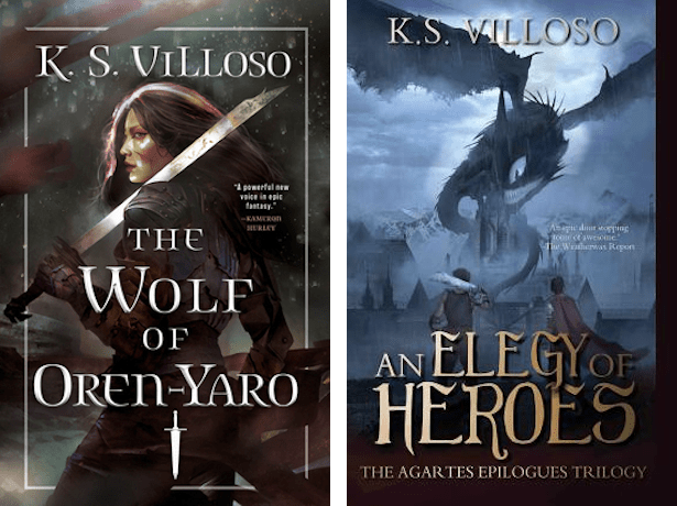 books by K.S. Villoso
