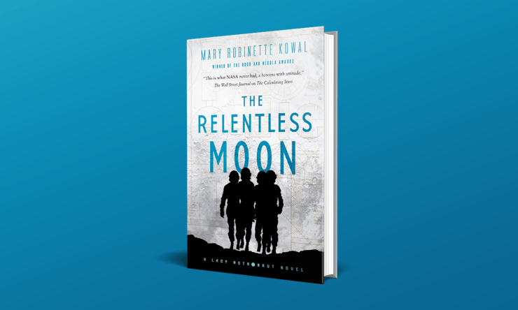 Blog Post Featured Image - Lunar Self-Sabotage: The Relentless Moon by Mary Robinette Kowal