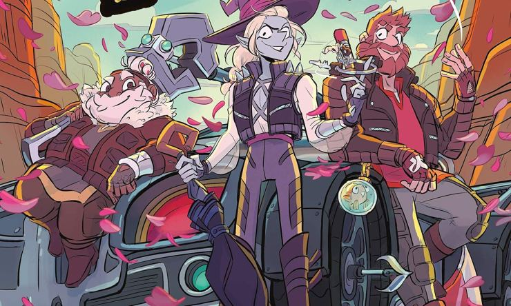 Blog Post Featured Image - The Adventure Zone: Petals to the Metal Races Into the Plot