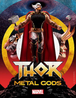 Thor: Metal Gods Serial Box Marvel fiction podcast