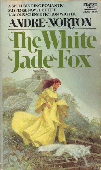 Blog Post Featured Image - Andre Norton Goes Gothic in The White Jade Fox