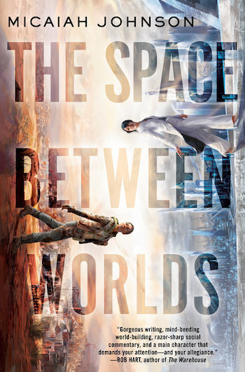 Blog Post Featured Image - Micaiah Johnson's The Space Between Worlds Wins the 2021 Compton Crook Award