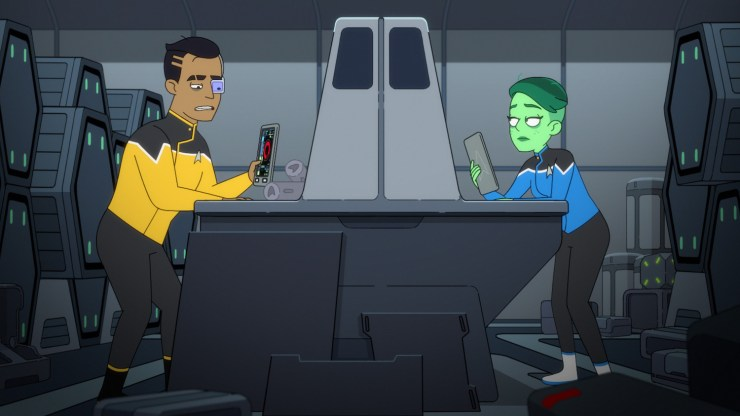 "Star Trek: Lower Decks ""Temporal Edict"""