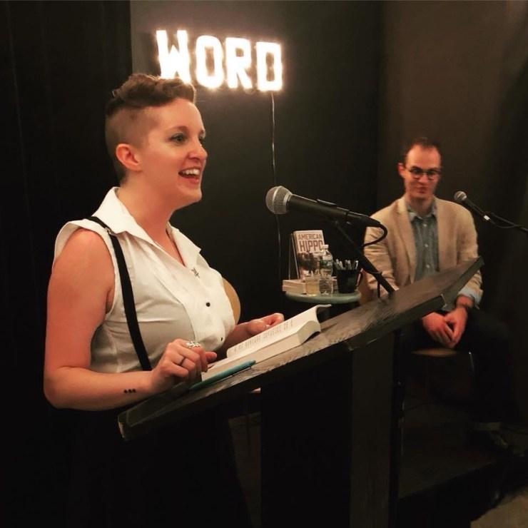 Sarah Gailey at Word Bookstore
