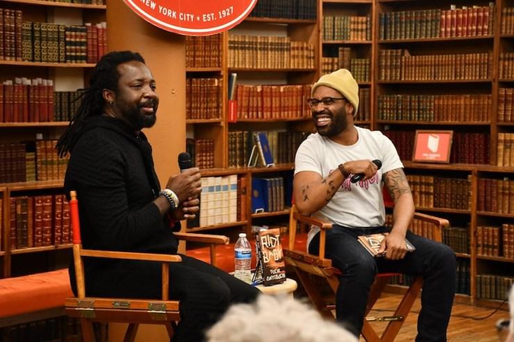 Tochi Onyebuchi and Marlon James at The Strand