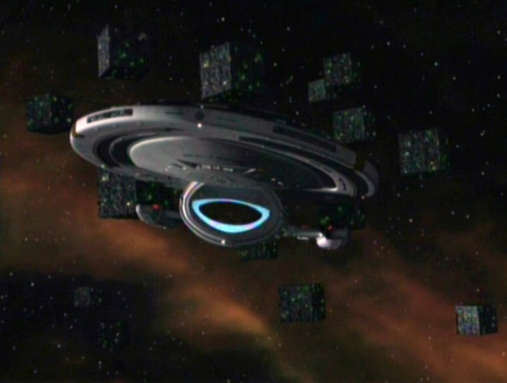 """Blog Post Featured Image - Star Trek: Voyager Rewatch: """"Scorpion"""" (Part 1)"""
