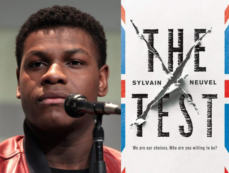 Blog Post Featured Image - Adaptation of Sylvain Neuvel's The Test to Star John Boyega and Payman Maadi