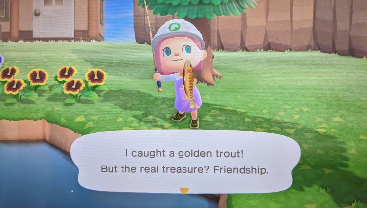 Animal Crossing Golden Trout