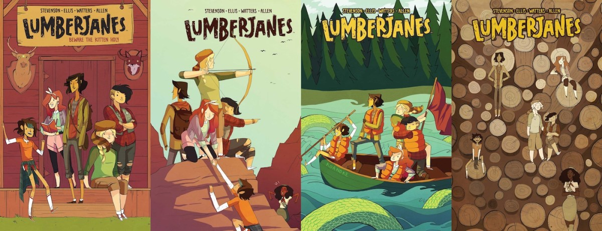 Noelle Stevenson's Lumberjanes Are Headed to HBO Max | Tor.com