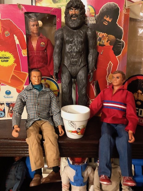 Photo of Six Million Dollar Man collectible toys