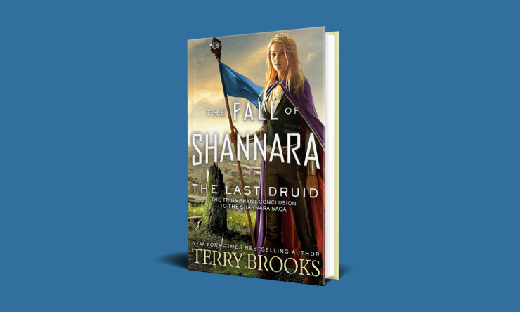 Blog Post Featured Image - The Rise and Fall of Shannara: The Last Druid by Terry Brooks