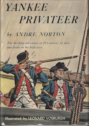 Blog Post Featured Image - Andre Norton Takes to the High Seas in Yankee Privateer