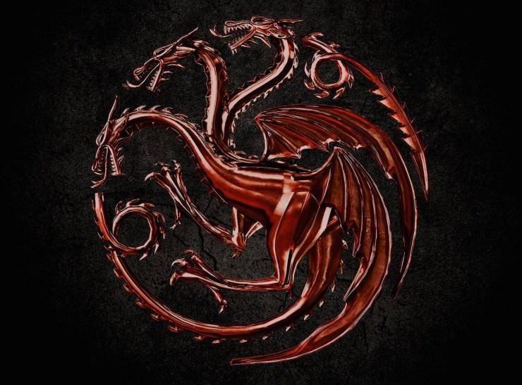 House of the Dragon Targaryen logo