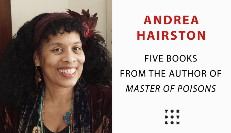 Blog Post Featured Image - Aspects of History and Future: Announcing Five Books From Andrea Hairston