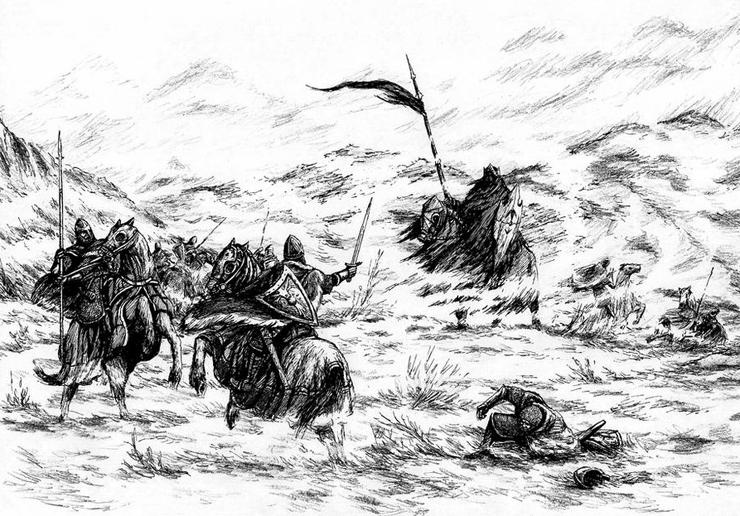 """Batalha de Fornost"" por Joona Kujanen"