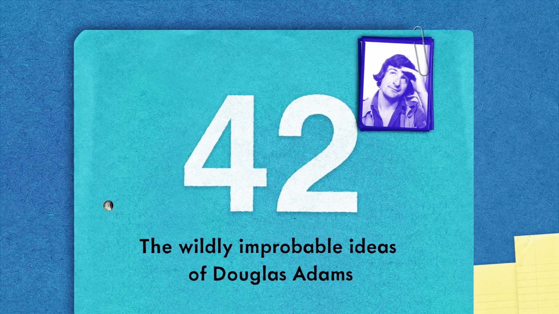 A New Collection of Douglas Adams' Writing Has Been Funded on Kickstarter