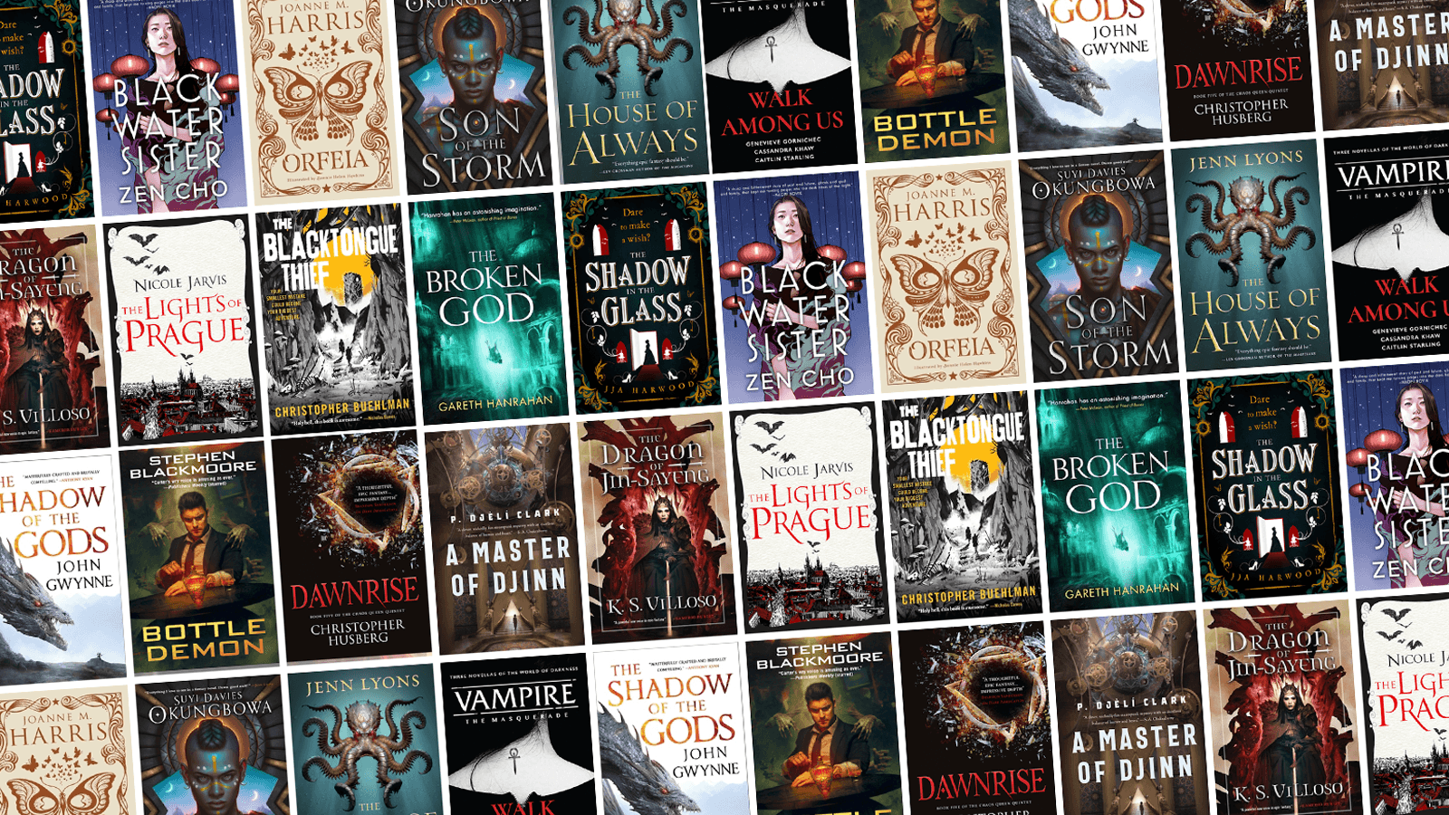 All the New Fantasy Books Arriving in May!