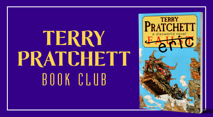 Blog Post Featured Image - Terry Pratchett Book Club: Eric, Part II