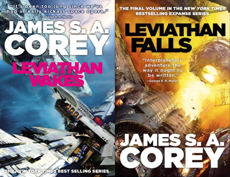 Blog Post Featured Image - James S.A. Corey Says the Final Expanse Novel Has Been Turned In