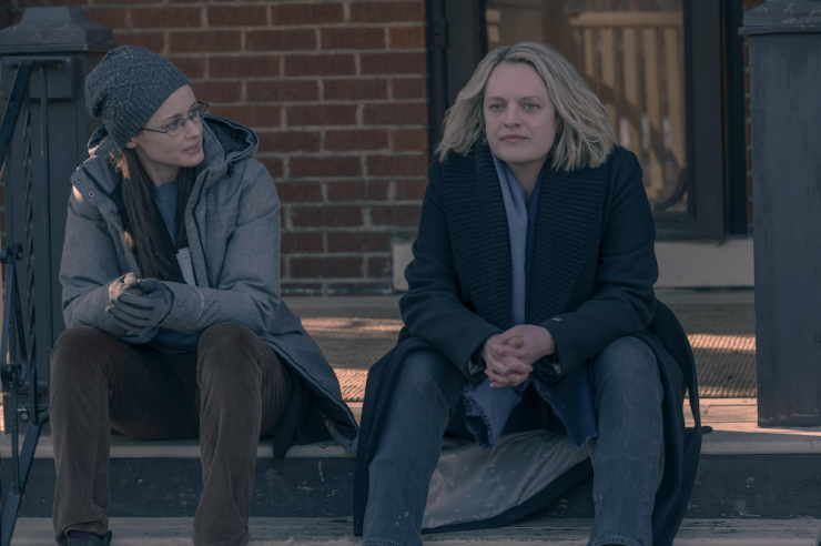 The Handmaid's Tale season 4 finale The Wilderness June Offred Fred Emily
