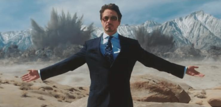 Iron Man Jericho Missle scene