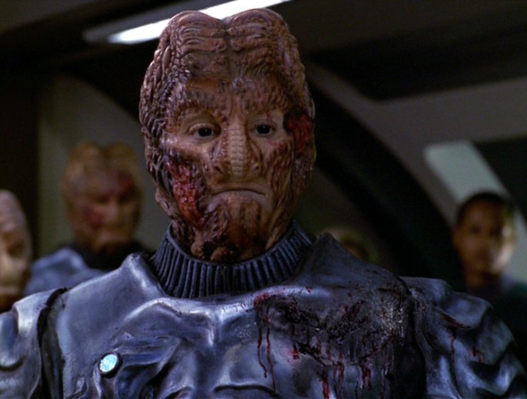 "Star Trek: Voyager ""Flesh and Blood"""