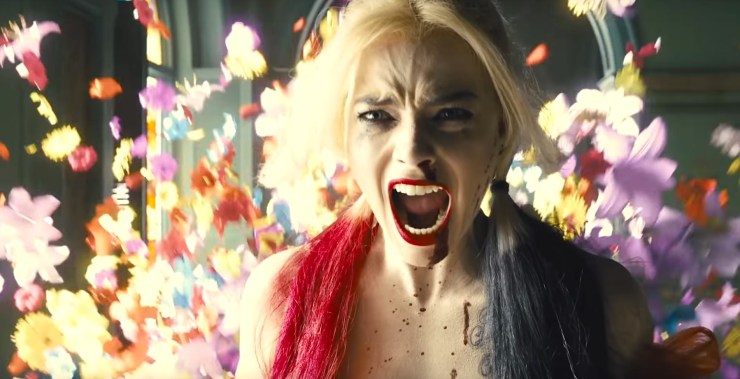 The Suicide Squad, Harley screaming