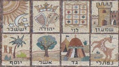 Photo de Les drapeaux des bné Israël