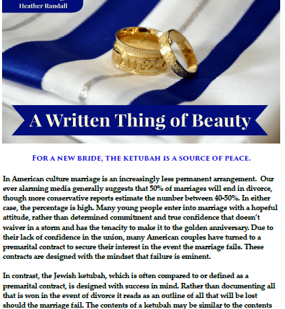 Messianic Family Magazine