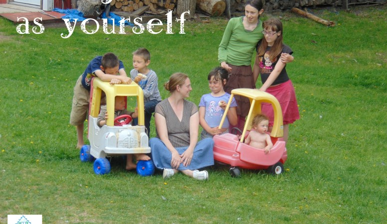 Love your children as yourself