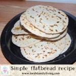 Simple flat bread recipe