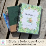 Questions for Bible study